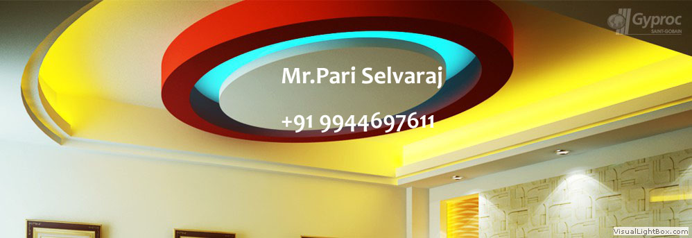 About 9944697611 False Ceiling Dealers Plaster Of